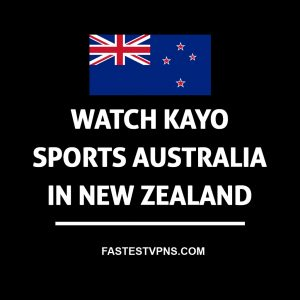 Watch Kayo Sports in New Zealand