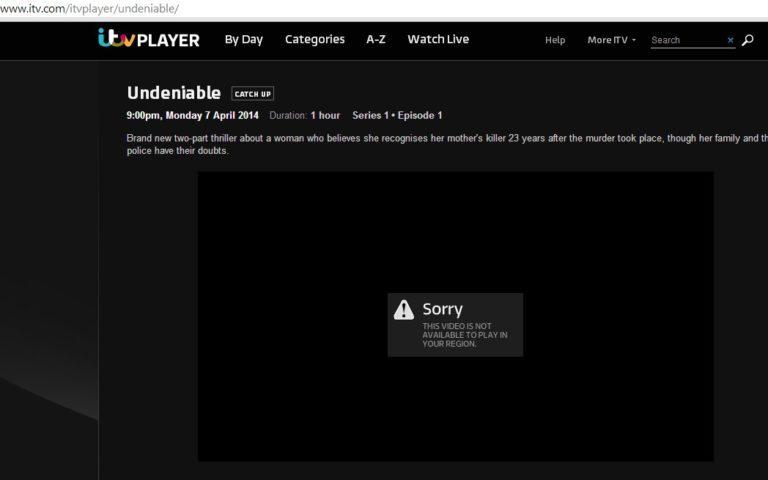 Watch ITV in New Zealand