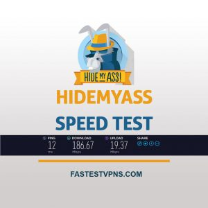 HideMyAss Speed Test