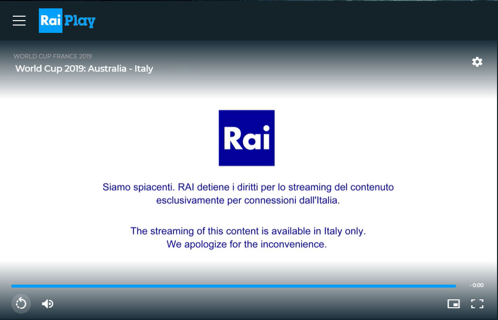 How to watch Rai TV outside Italy in 4 Simple Steps