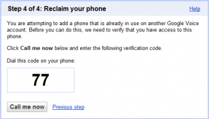 Reclaim Your Phone Google Voice
