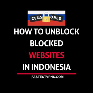 Unblock Youtube, Vimeo, Reddit in Indonesia