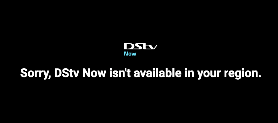 DSTV Now isn't available in your region. Watch DSTV Outside South Africa
