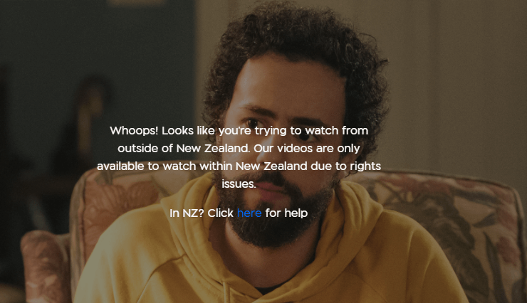 Whoops! Looks like you're trying to watch from outside of New Zealand. Our videos are only available to watch within New Zealand due to rights issues.
