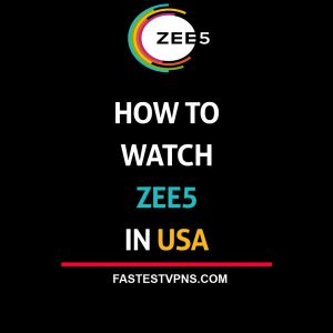 Watch ZEE5 in USA