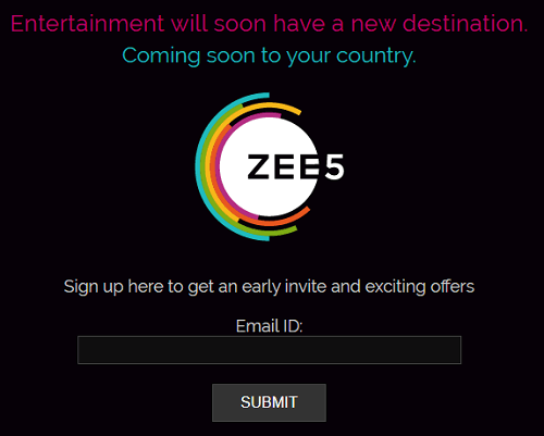 """Entertainment will soon have a new destination. Coming soon to your country."""